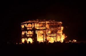 Burning Man 2012 The Burn