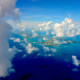 Bermuda from the Clouds