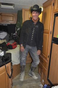 Scott at Burning Man 2012